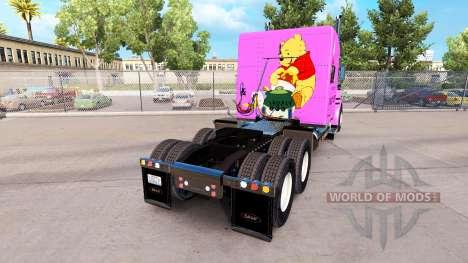 Haut Pooh Veasna Zugmaschine Peterbilt 389 für American Truck Simulator