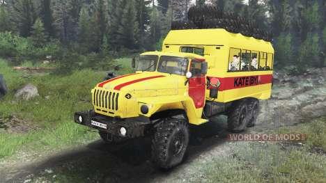 Ural-4320-30 [03.03.16] für Spin Tires