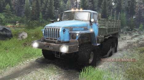 Ural-4320 Union Soviétique [03.03.16] pour Spin Tires