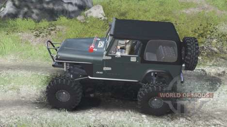 Jeep YJ 1987 [03.03.16] pour Spin Tires