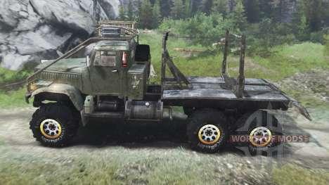 KrAZ-255 truck [03.03.16] für Spin Tires