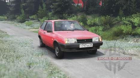 VAZ-2108 2109 21099 [03.03.16] für Spin Tires
