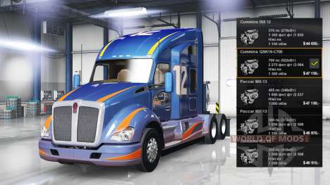 Motor Cummins QSK19-C700 für American Truck Simulator
