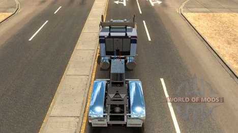 Kenworth W900a pour American Truck Simulator