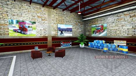 Garages T. L. Europa für American Truck Simulator
