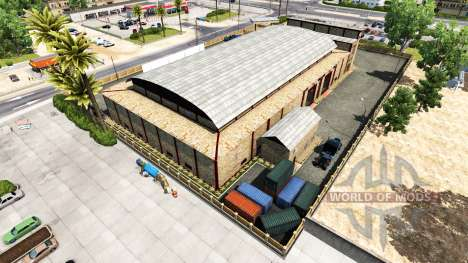 Garages T. L. Europe pour American Truck Simulator