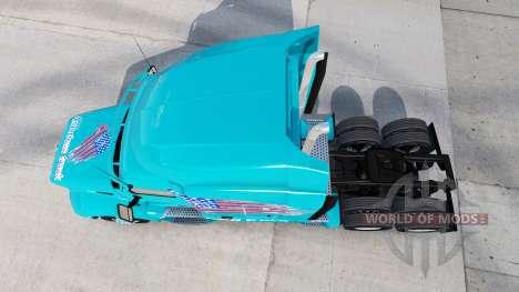 Haut amerikanischen Truck Peterbilt LKW für American Truck Simulator