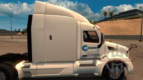 Celadon Camionnage скин для Peterbilt 579 pour American Truck Simulator