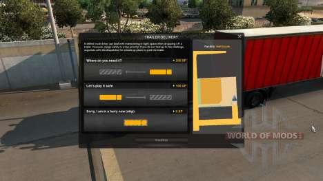 Augmentation de l'expérience pour le Stationneme pour American Truck Simulator
