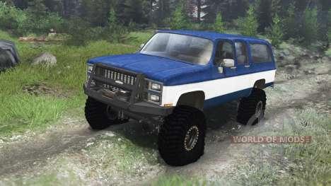 Chevrolet Suburban 1982 [03.03.16] für Spin Tires