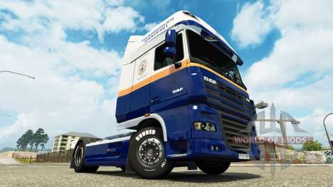 Flensburg Brasserie skin for DAF truck pour Euro Truck Simulator 2