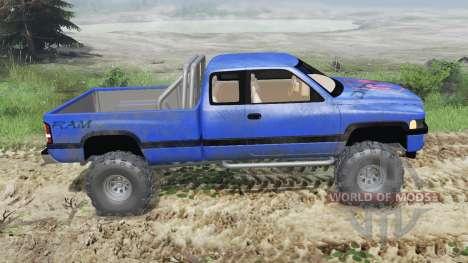 Dodge Ram Ext. Cab 1996 [03.03.16] für Spin Tires