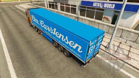 Semi Carstensen pour Euro Truck Simulator 2