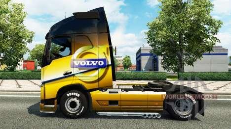 Der Volvo Special 2012-skin für den Volvo truck für Euro Truck Simulator 2