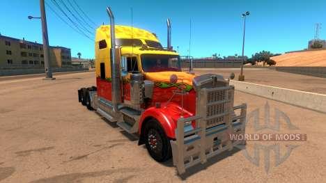 Kenworth W900 Sunny paintjob für American Truck Simulator