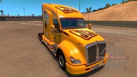 JCB peau pour Kenworth T680 pour American Truck Simulator