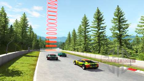 Hirochi Super Race v1.05 pour BeamNG Drive