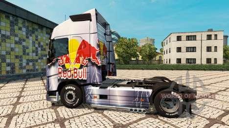 RedBull-skin für den Volvo truck für Euro Truck Simulator 2