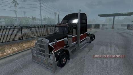 De nouvelles pluies (3D Réalistes TMNA Pluie Bro pour American Truck Simulator