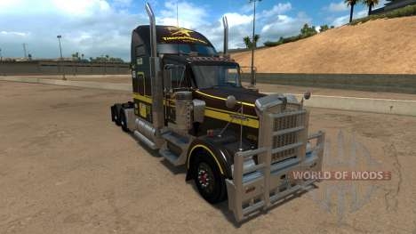Five Star Transportations skin for Kenworth W900 für American Truck Simulator