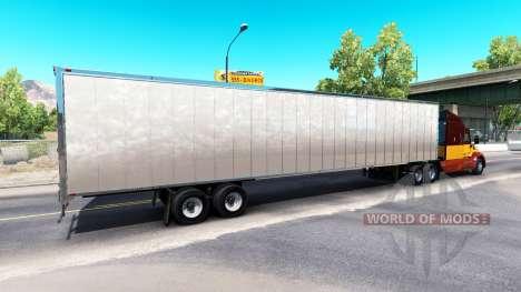 Haut Schmutzigen Matsch auf dem Anhänger für American Truck Simulator
