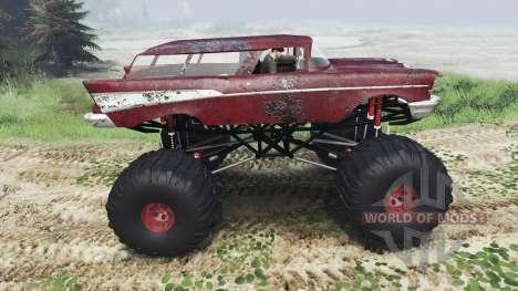 Chevrolet Bel Air Wagon 1957 [monster] für Spin Tires