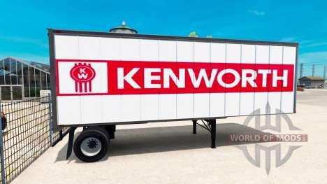 Peaux pour les remorques pour American Truck Simulator