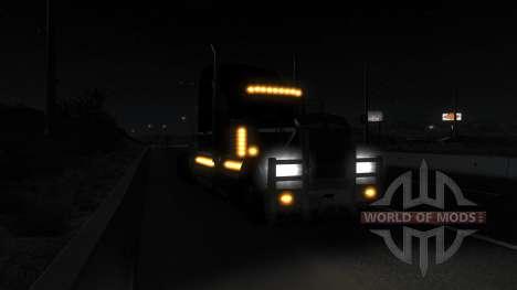 Realistische Beleuchtung (Real-Scheinwerfer Mod) für American Truck Simulator