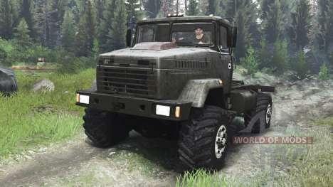 KrAZ-5131 [tracteur][03.03.16] pour Spin Tires
