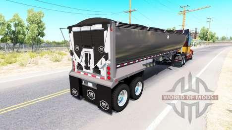 Ein semi-truck Mac Simizer für American Truck Simulator
