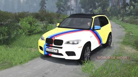 BMW X5 M [03.03.16] pour Spin Tires
