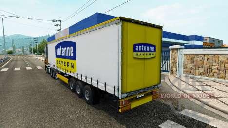 Semi-Antenne Bayern für Euro Truck Simulator 2