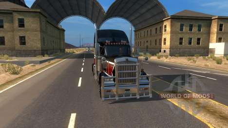 Carte De La Zone 51 pour American Truck Simulator