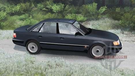 Audi 100 Quattro [03.03.16] pour Spin Tires