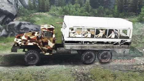 Ural-4320 [03.03.16] für Spin Tires
