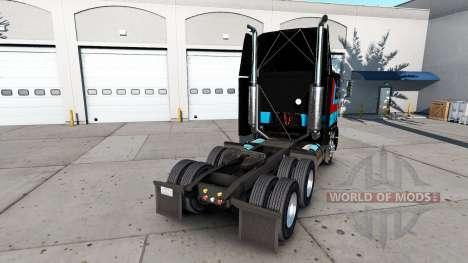 La peau André Bellemare sur le tracteur Freightl pour American Truck Simulator