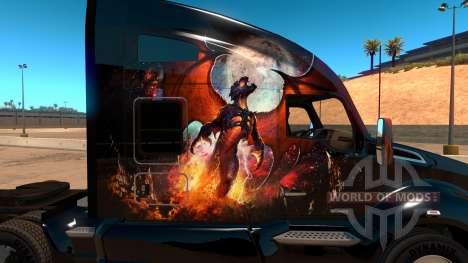 Kenworth T680 Skin Phoenix für American Truck Simulator