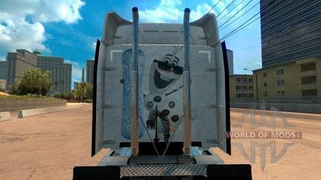 Gelée de la peau pour Peterbilt 579 pour American Truck Simulator