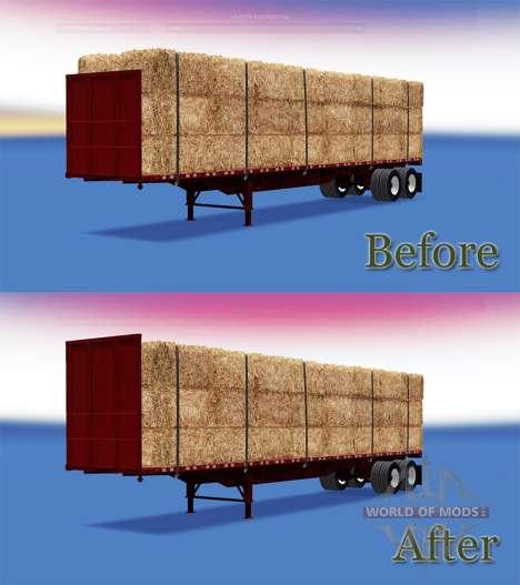 Semi-trailer-Plattform für American Truck Simulator