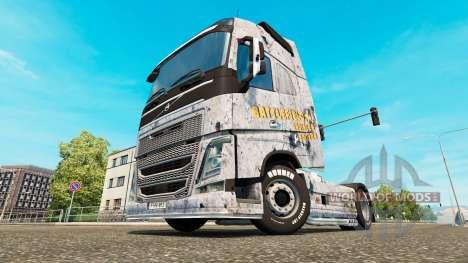 Champ de bataille 4 de la peau pour Volvo camion pour Euro Truck Simulator 2