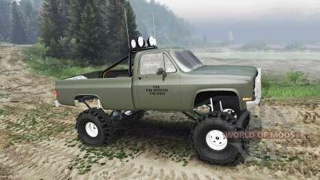 Chevrolet K5 Blazer M1008 [03.03.16] für Spin Tires