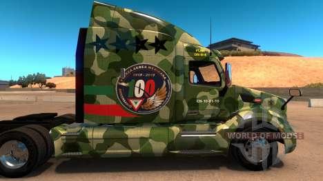 FAM skin für Peterbilt 579 für American Truck Simulator