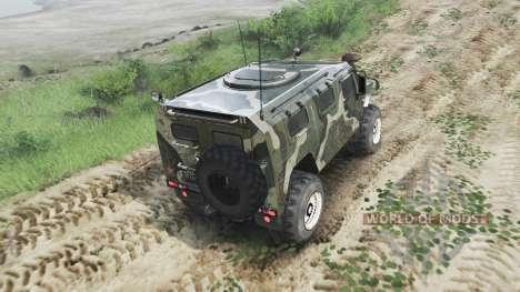 GAZ-2975 Tigre [03.03.16] pour Spin Tires