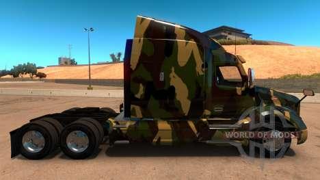 Haut Camouflage für Peterbilt 579 für American Truck Simulator