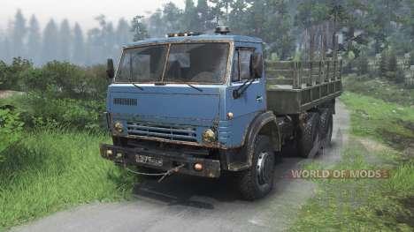 KamAZ-4310 [modifié][03.03.16] pour Spin Tires