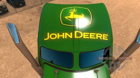 Kenworth W900 John Deere Skin pour American Truck Simulator