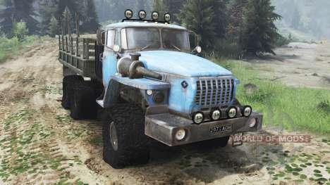 Ural 4320 UdSSR [03.03.16] für Spin Tires