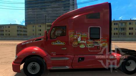Skin The Coastal pour Kenworht T680 pour American Truck Simulator