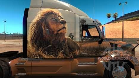 Dream skin für Peterbilt 579 für American Truck Simulator