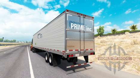 La Peau Premier Inc. la remorque pour American Truck Simulator